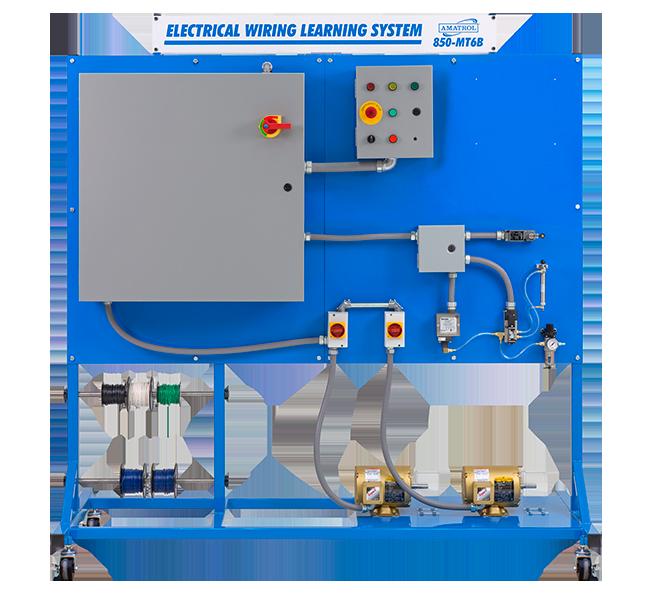 Amatrol Electrical Wiring Learning System 850-MT6B