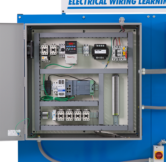 amatrol vfd  plc wiring learning system 85