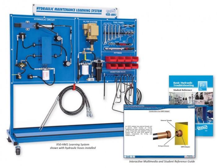 Amatrol Hydraulic Maintenance Learning System 950 Hm1