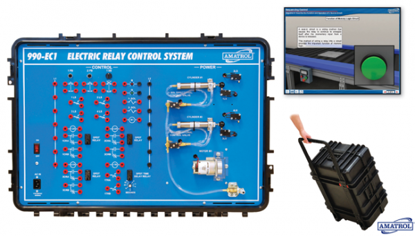 Portable Electric Relay Control Learning System TechLabs