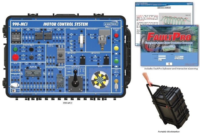 Portable Motor Control Troubleshooting Learning System | Tech-Labs