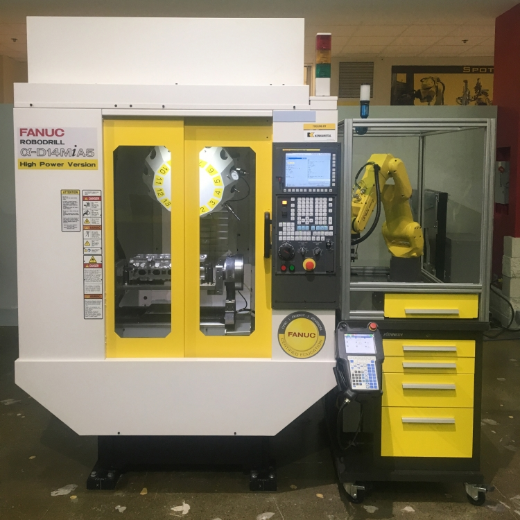 APT FANUC Machine Tending Education Cell