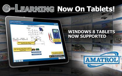 Amatrol eLearning for Tablets