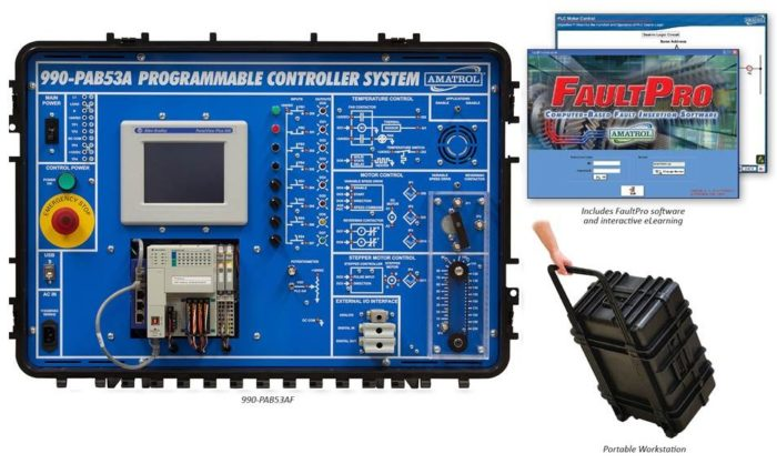Portable PLC Troubleshooting Learning System (CompactLogix