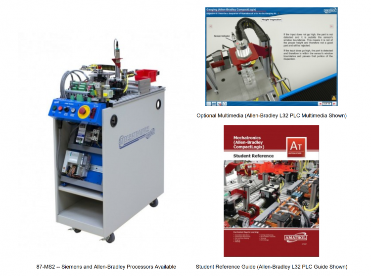amatrol mechatronics learning system tech labs rh tech labs com Amatrol IV Amatrol IV