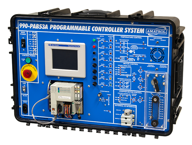 Portable PLC Learning System (Allen-Bradley ControlLogix) | Tech-Labs