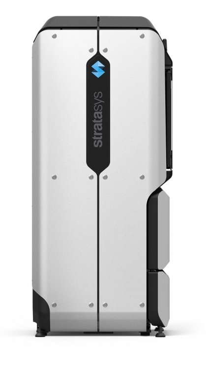 The Stratasys F-1-2-3 Series Side View