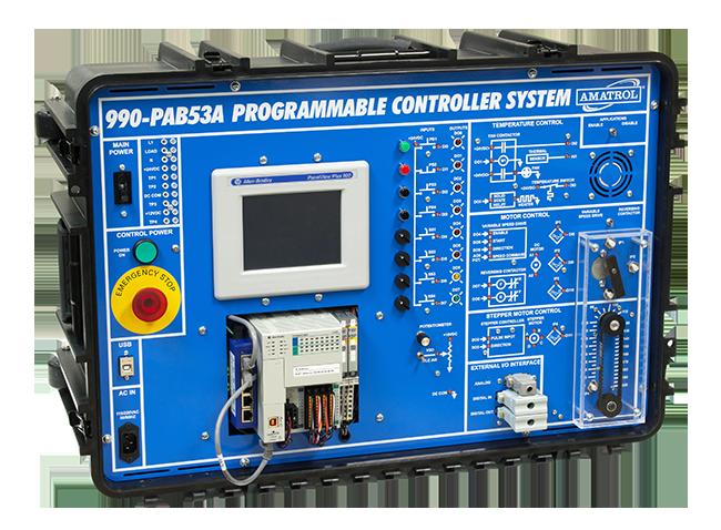 Portable PLC Learning System (Allen-Bradley ControlLogix