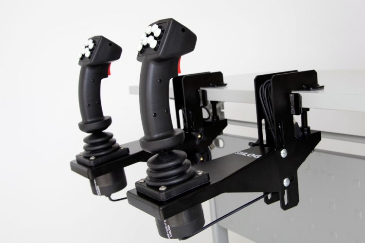 Hydraulic Excavator Personal Simulator Replica Controls