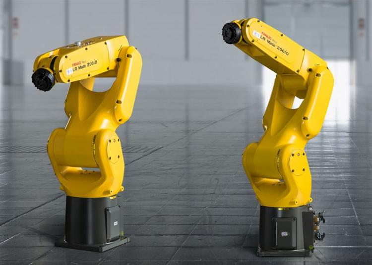 FANUC CERT Cart - LR MATE 200iD   Tech-Labs
