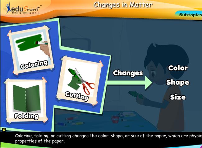 EduSmart Science | Changes in Matter