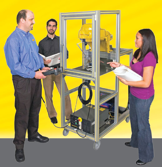 Certified Education Robot Training M-1iA Cart