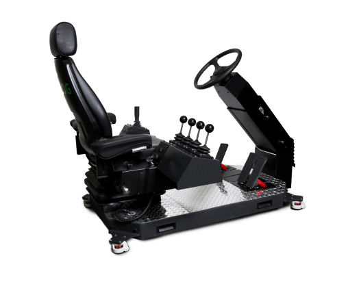 Replica Controls for Forklift Personal Simulator