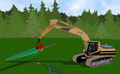 Harvester Personal Simulator