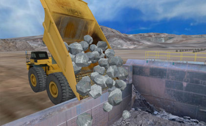 Mining Truck Personal Simulator for Operator Training