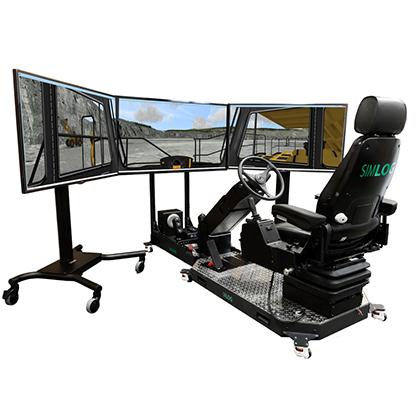 Operator Chair for Off-Highway Truck Personal Simulator