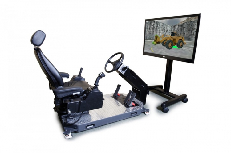 Simlog Wheel Loader Personal Simulator Set-Up