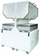 High-volume laser extraction system