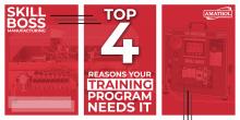 Skill Boss Manufacturing: 4 Reasons Your Training Program Needs It