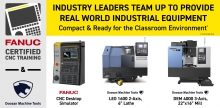 FANUC, Doosan Develop CNC Training Program