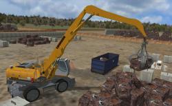 Wheeled Material Handler Personal Simulator