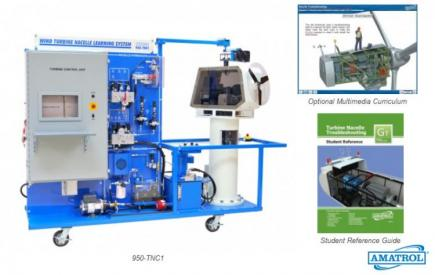 Turbine Nacelle Troubleshooting Learning System (950-TNC1)