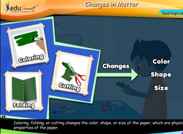 EduSmart Science   Changes in Matter
