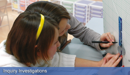 Engaging investigations help develop skills and knowledge in science